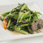 Boeuf et brocoli chinois
