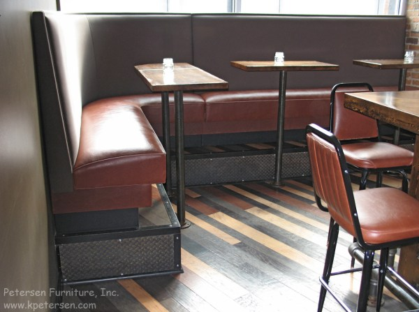 Bar Height Booth Seating