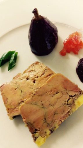 Restaurant B. Bleu - Terrine de Foie gras