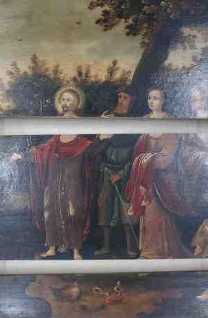 restauratie schilderijen - verlijmen - atelier iddi - den haag - zuid holland