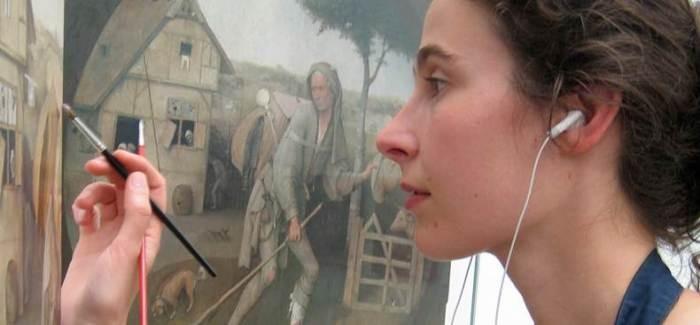 charlotte caspers schilderij reconstructie restaurateur restauratie