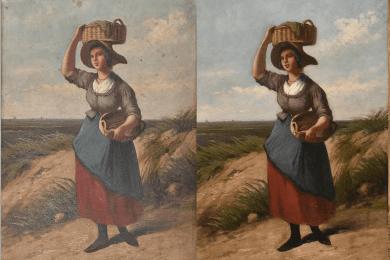 Otterbeek - restauratie schilderij