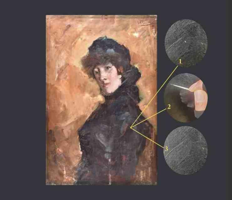 restauratie breitner schilderij