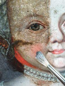 schilderij schoonmaken