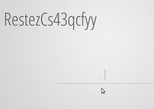 Effet de lettres aléatoires d'un texte avec jQuery