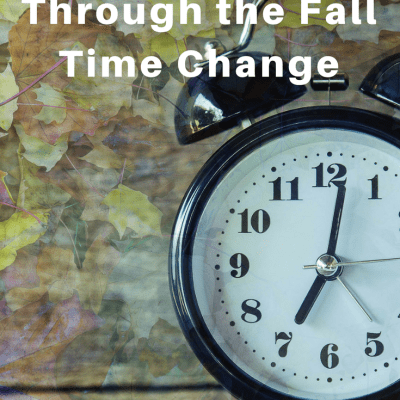 Tips to guide you through the fall time change