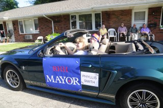 2018 RHH Independence Parade mayor 2