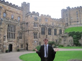 While you're in Durham, book the Castle tour- it really is fabulous!