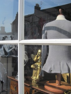 Barnard Castle high street sedately framed