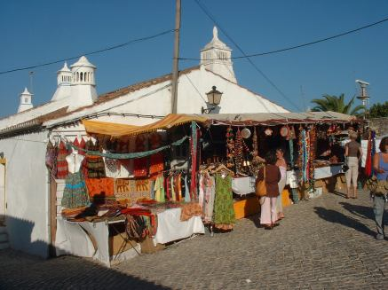 Home made goods and pastries at the Arabian market in Cacela Velha
