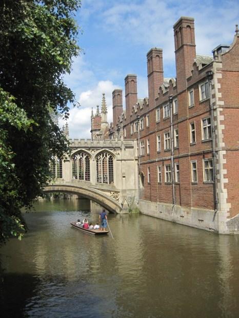 "An alternative ""Bridge of Sighs"", in Cambridge"