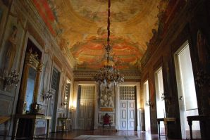 The throne room at Mafra- from Wikipedia