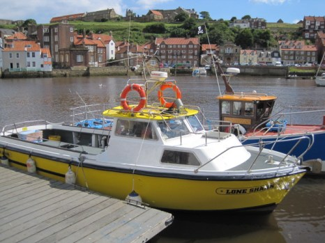 I love the eye-catching colours of the boats