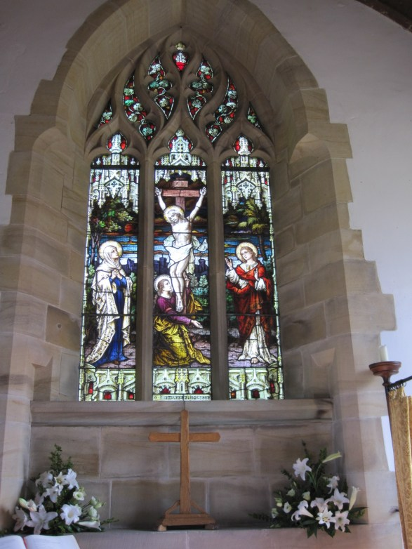 And the stained glass