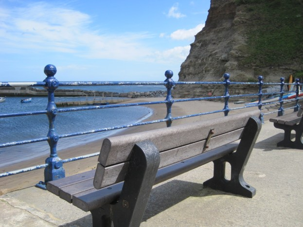 There are benches for those who just like a view
