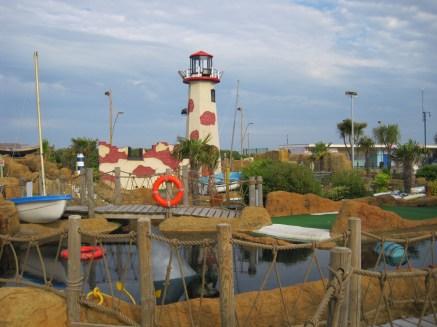Plus a lighthouse