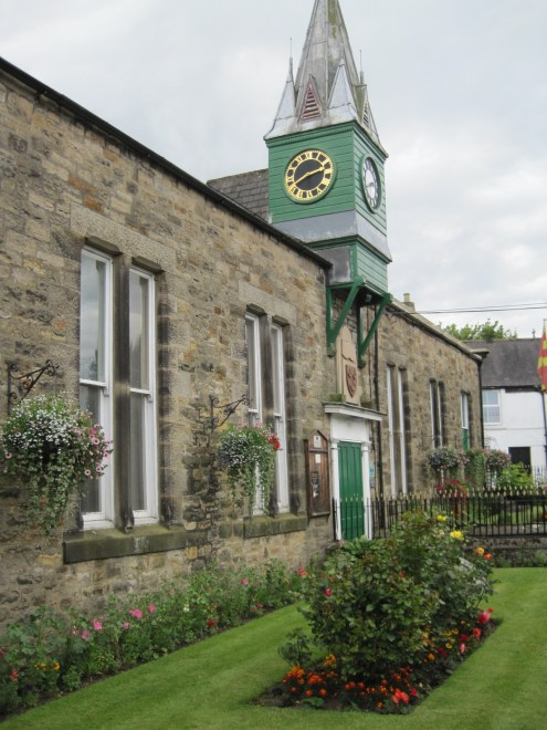 And the community hall