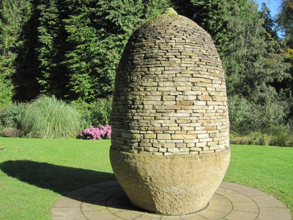 The handsome new Acorn Sculpture