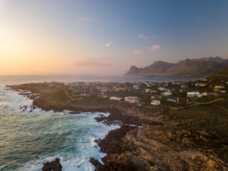 Our guesthouse in Pringle Bay, South Africa