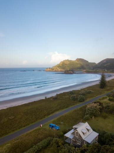 Our bach on Great Barrier Island, New Zealand