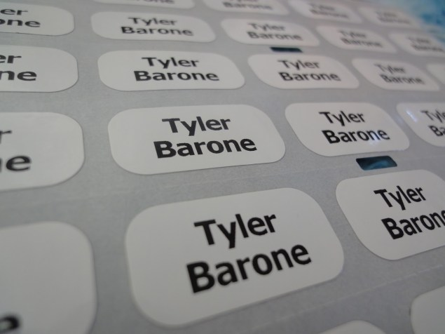 No my daughter is not called Tyler Barone