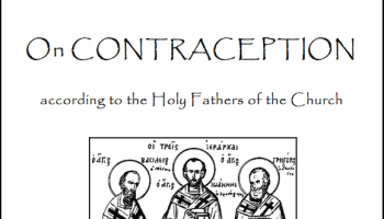 The Orthodox Position on Contraception | Restless Pilgrim