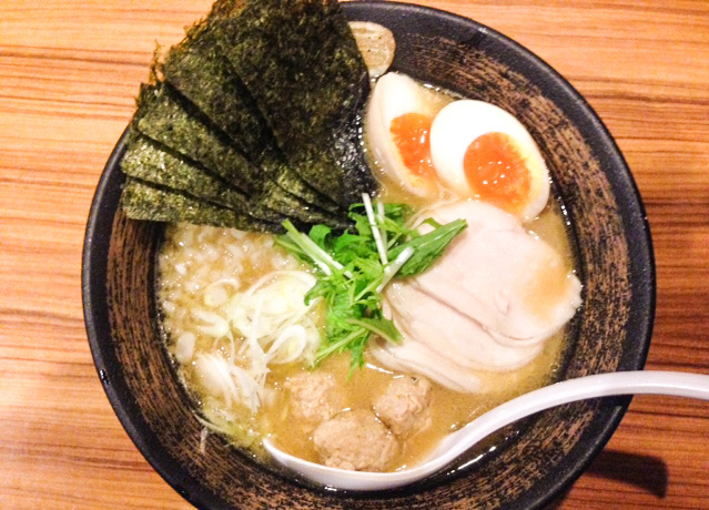 麺屋武一濃厚鶏白湯