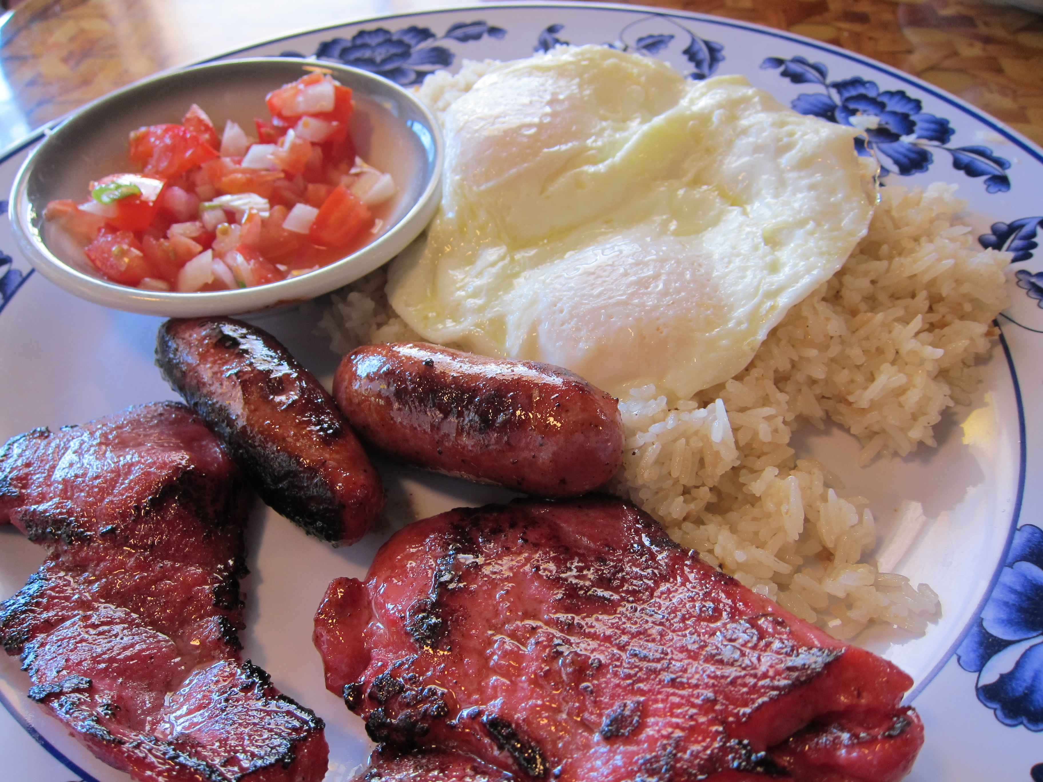 On Fowl And Filipino Breakfast Uncle Mike S Is A Place Of
