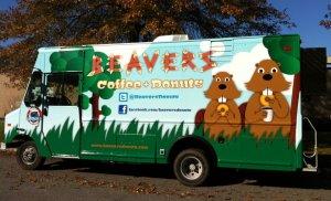 Beavers Coffee & Donuts Drivers Side Pic