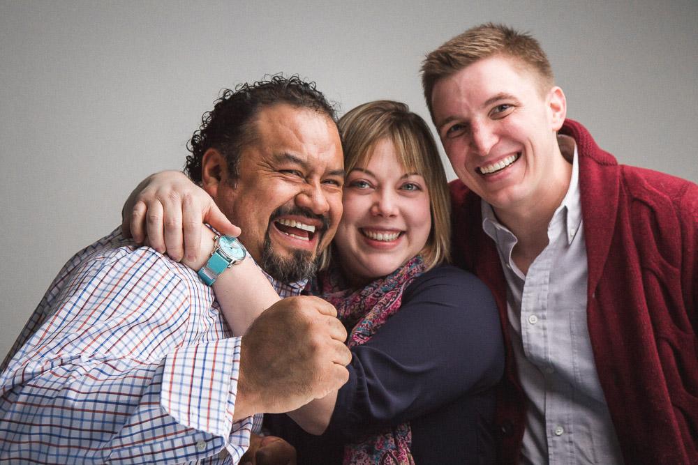 Manny Hernandez, Sarah Grueneberg, Tom Van Lente/ Photo: Joe Mazza/Brave Lux