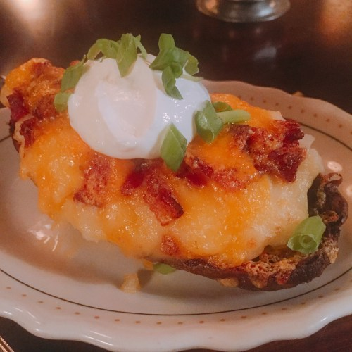Twice-baked potato at Joey Gerard's/Photo: David Hammond