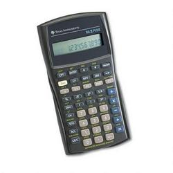 Texas Instruments BA II PLUS Financial Calculator, Scientific, Alphanumeric, 10 Character, Hard