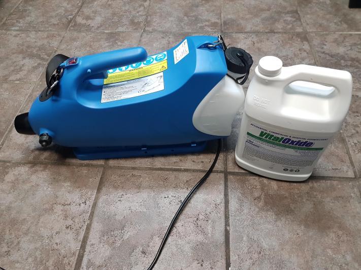 Covid 19 Fog Disinfectant Equipment