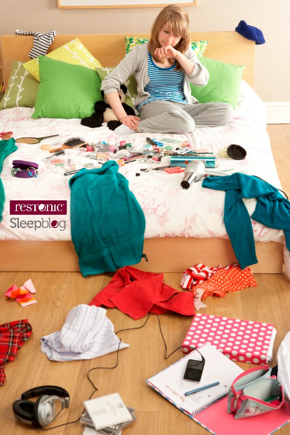 Clutter  Sleep Make TERRIBLE Bed Partners  Restonic