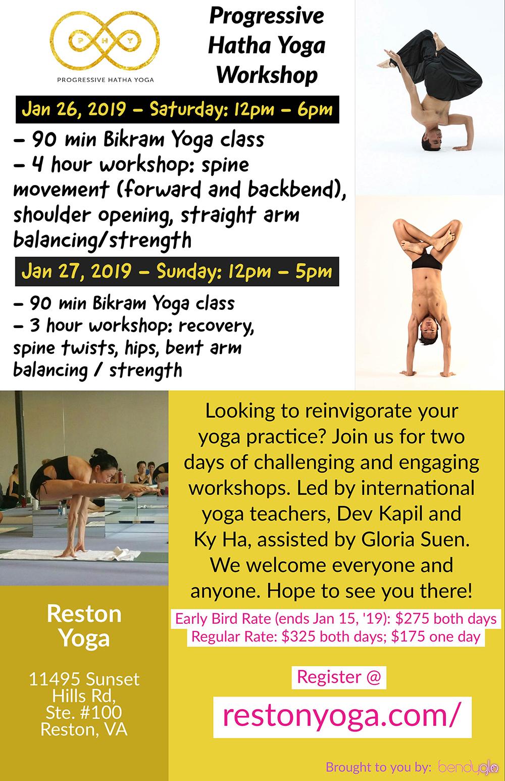 Progressive Hatha Yoga Workshop