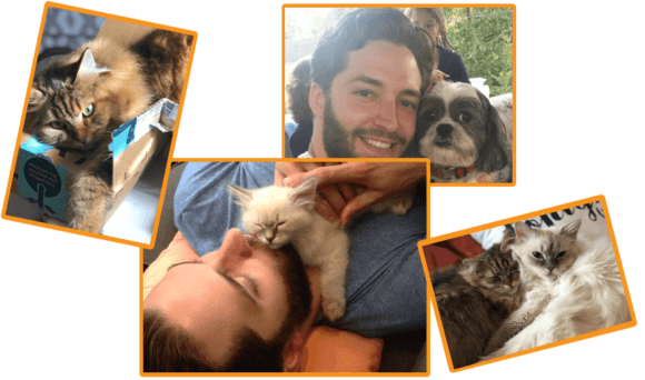 brian and his pets