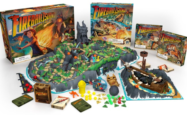 Fireball Island Restoration Games