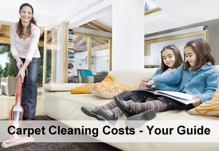 Carpet Cleaning Costs Guide