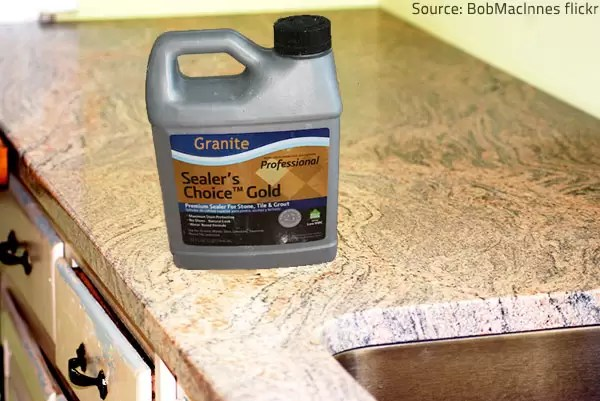 Sealer Protects Your Granite Countertops