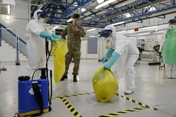 The Procedure for Biohazard and Crime Scene Cleanup