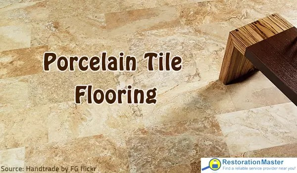 porcelain tile flooring selection