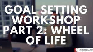 Goal Setting Part 2: The Wheel of Life