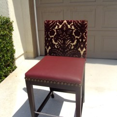 Antique Leather Chair Repair Best Chairs Ottoman West Hollywood Ca Restoration Reupholstery Custom