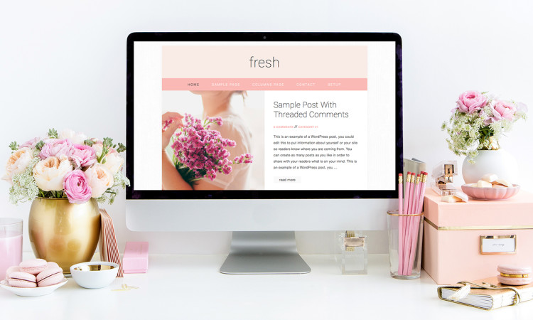 Introducing Fresh: A FREE Feminine Genesis Child Theme