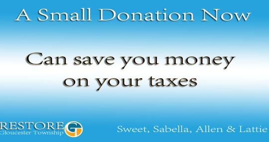 donate & save