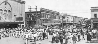 Whiteside Theater in 1929