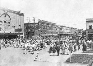 Whiteside Theater in 1929