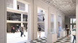 511 Hallway into Atrium (image courtesy of Allied Works Architecture)