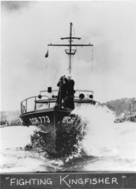 Kingfisher during World War II in its Coast Guard days (Image courtesy of Lincoln County Historical Society)