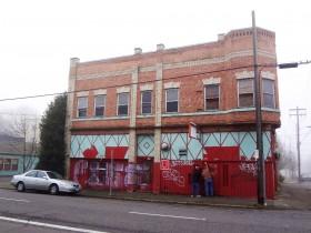 Rinehart Building, Portland, before work began (Photos Courtesy Oregon Heritage).